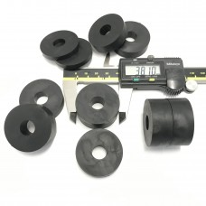 12mm (M12) Rubber Spacers/Standoff Washers (38mm diameter)