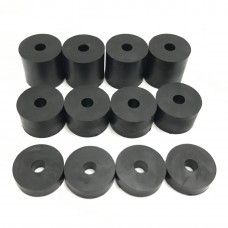 4mm (M4) Rubber Spacers/Standoff Washers