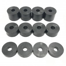 6mm (M6) Rubber Spacers/Standoff Washers (20mm diameter)