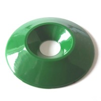 8mm (M8) Countersunk Washer - Green