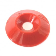 8mm (M8) Countersunk Washer - Red
